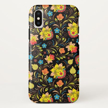 Stunning Floral Abstract iPhone X Case - tap to personalize and get yours