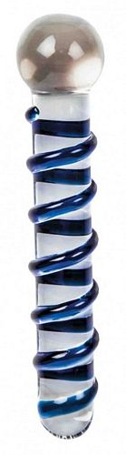 Glas dildo - GV Funny nr 01 fra Glassvibrations - Sexlegetøj leveret for blot 29 kr. - 4ushop.dk - Glas dildo i exklusivt design i en høj kvalitet til en fair pris. Brudsikker glas. Stof opbevaringspose medfølger.