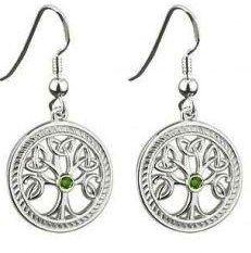кельтские символы - древо, серьги