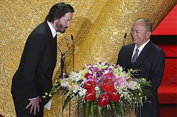Keanu Reeves spent five years on his latest film http://www.csmonitor.com/USA/Latest-News-Wires/2013/0520/Keanu-Reeves-spent-five-years-on-his-latest-film-Why