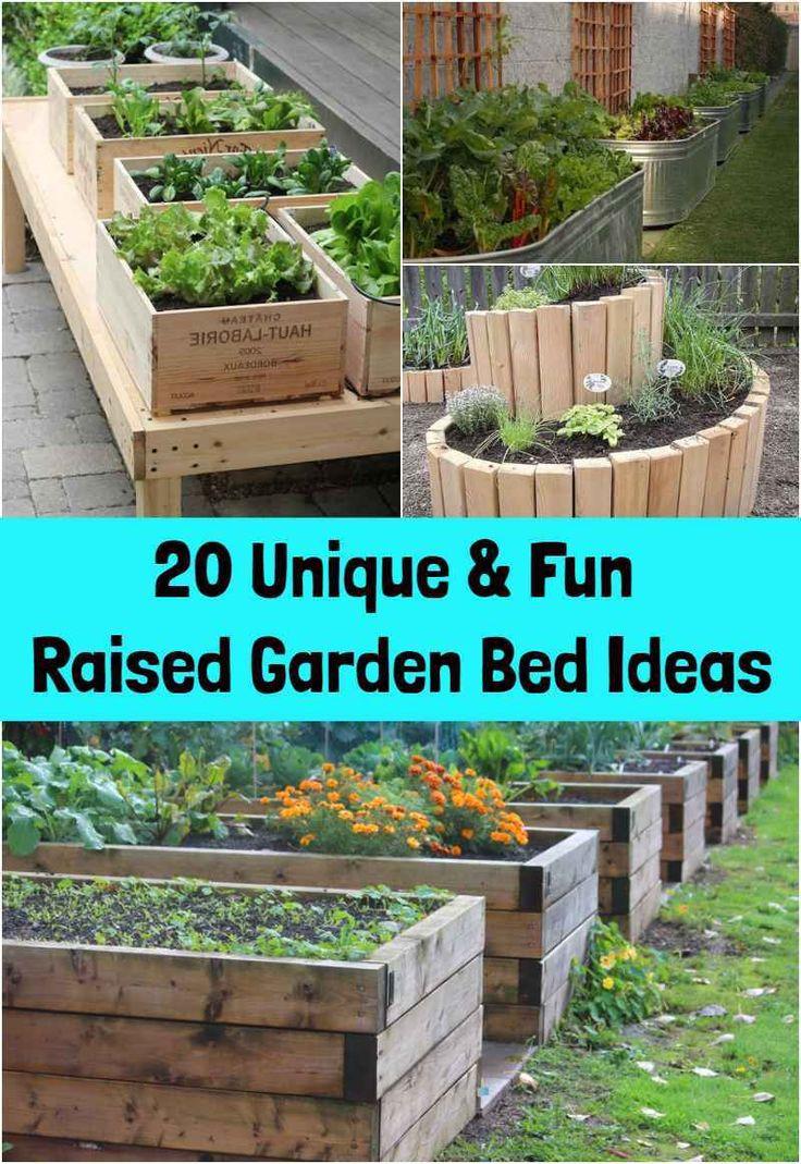 20 Unique Amp Fun Raised Garden Bed Ideas Raised Garden