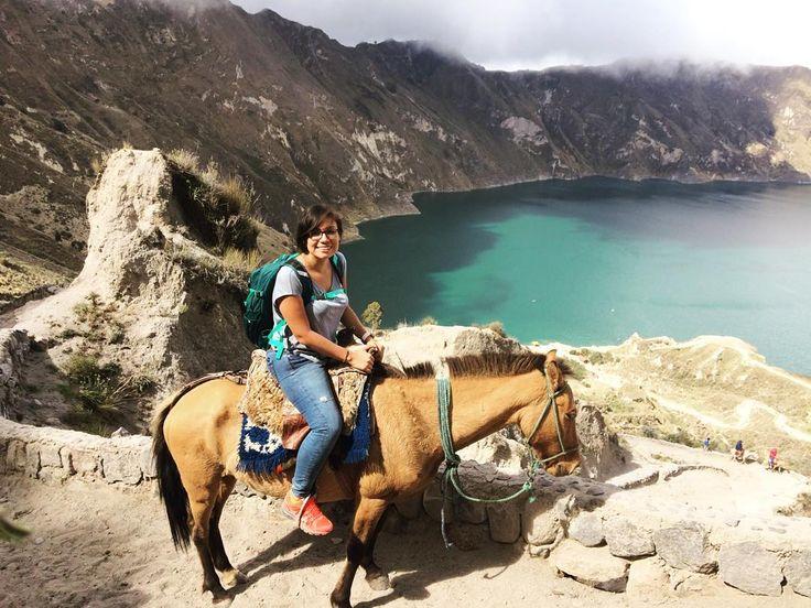 On instagram by flordefatima_lt #landscape #contratahotel (o) http://ift.tt/1JBS4zd ascendí la #Laguna de #Quilotoa. Queda pendiente subirla a pie. Esta vez por tiempo en mula. Por primera vez monté una #mula. #experiencia #vida #felicidad #viajero #descubre #turismo #AllYouNeedIsEcuador #Ecuador #Latacunga #recorridos #paisajes