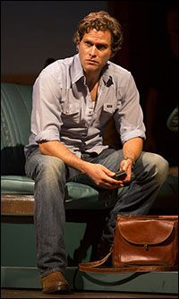 Steven Pasquale plays Robert in the musical The Bridges of Madison County.  Check it out and let us know what you think at BroadwayAudience.com
