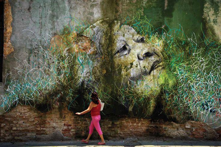 JR and jose parla: wrinkles of the city, havana, cuba
