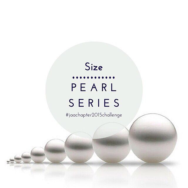#pearlseries  Pearls are measured in millimetres by width across the widest point. Larger pearls are typically more valuable due to their rarity however size along with shape and colour can be a personal choice.  #pearl #pearls #jeweller #jewellery #ring #engagementring #weddingring #bracelet #bangle #necklace #pendant #chain #earrings #pearlsize #culturedpearl #jaachapter2015challenge #page288of365  Image: lodoys.co.uk