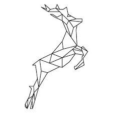 """Résultat de recherche d'images pour """"cerf geometrique"""""""