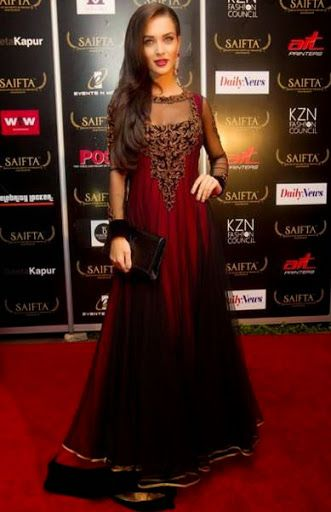 Image result for amy jackson red carpet
