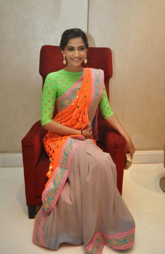 Sonam Kapoor : Saree Photos !! - Sonam Kapoor - Zimbio