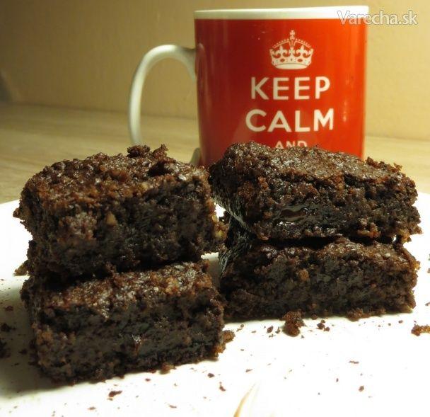 Tieto brownies sú bez múky a ako
