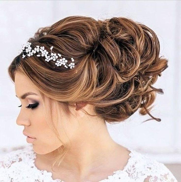 20+ ungewöhnliche Hochzeit Frisuren Ideen für rundes Gesicht – Frisuren – …   – haar