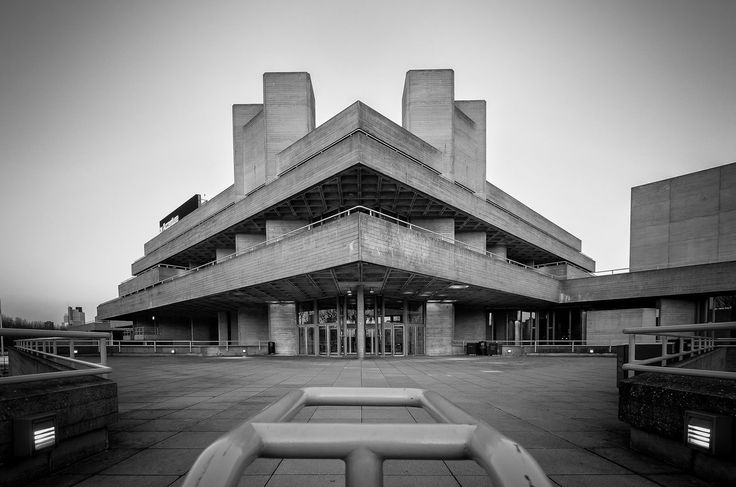The National Theatre, London, UK, Denys Lasdun, 1976. (photographed Scott Baldock)