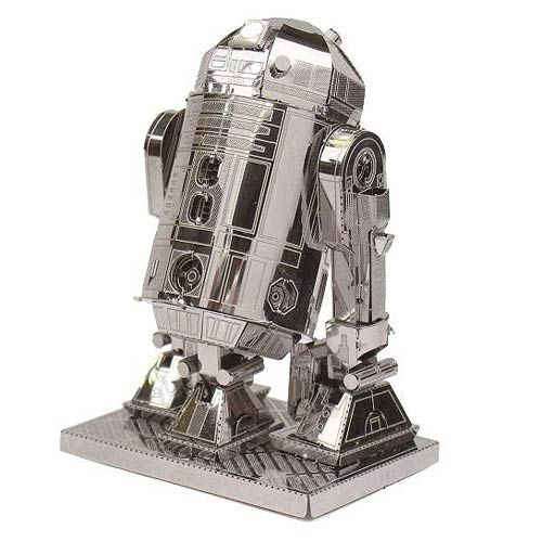 Star Wars R2-D2 Metal Earth Model Kit - Fascinations - Star Wars - WooHoo I finished mine, a couple of flaws but still good...yep still good. :)