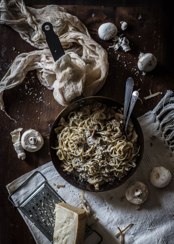 Mushroom & Truffle Tagliatelle | Hortus Natural Cooking