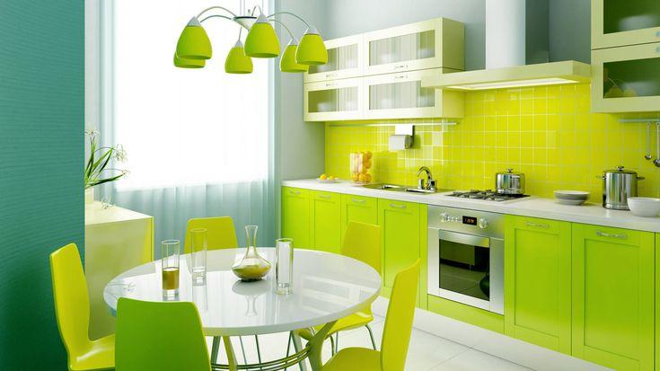 Зеленая кухня для постсоветской кухни