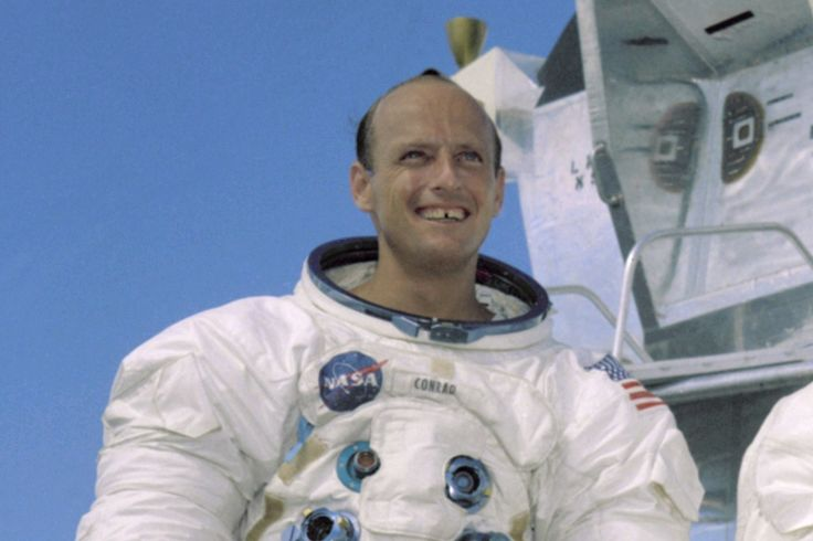 Pete Conrad overcame dyslexia to become one of NASA's most-traveled astronauts, logging four trips into space, including Apollo 12.