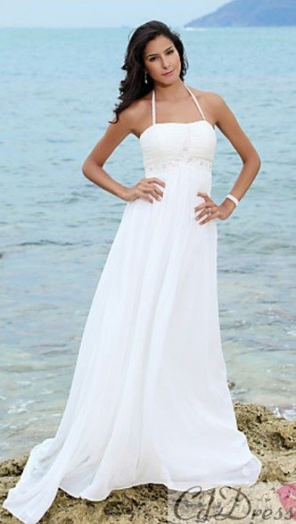 17 Best Images About Beach Wedding Dresses On Pinterest