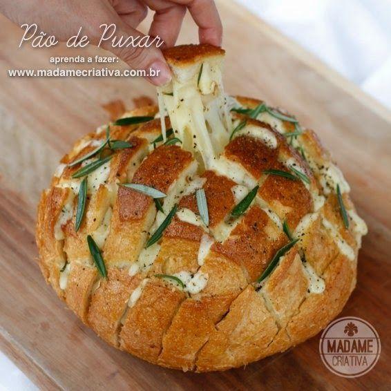 Πεντανόστιμο ψωμάκι γεμιστό με τυρί!