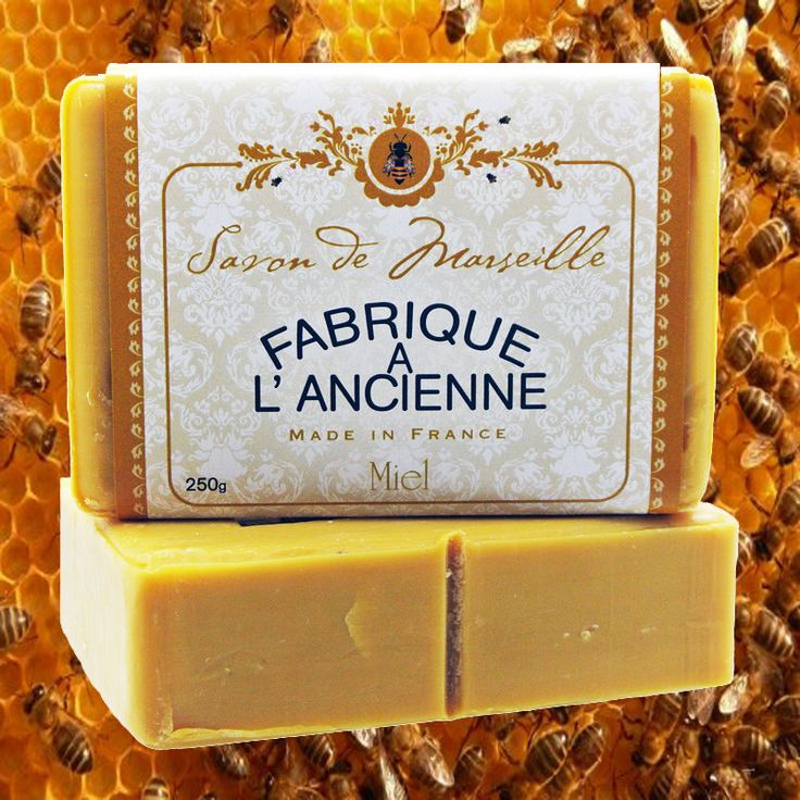 Honey French Soaps, Savons, The French Shoppe