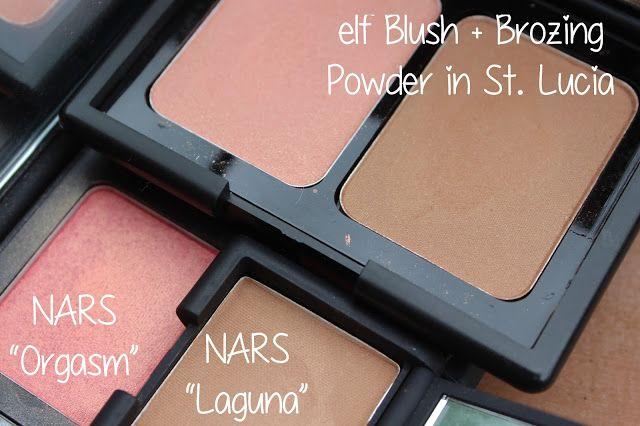 "Drugstore Dupes: NARS ""Laguna"" Bronzer + ""Orgasm"" Blush"