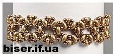 Many schemes for bracelets with beads TWIN