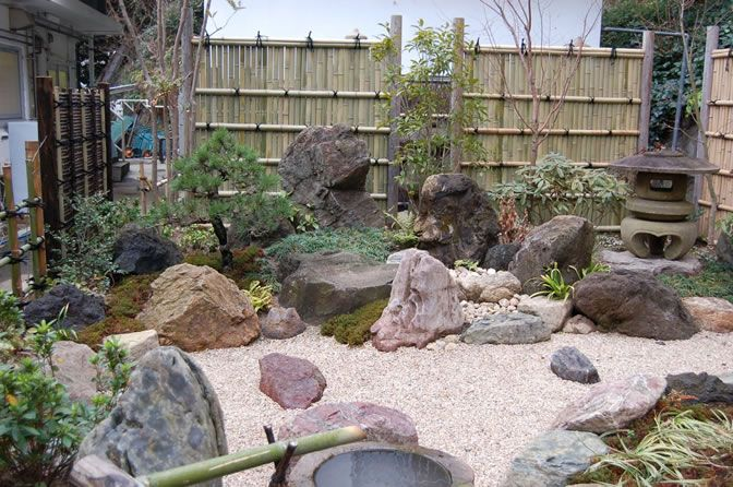 Japanse tuin Meubel details Pinterest Tuinen Landschappen