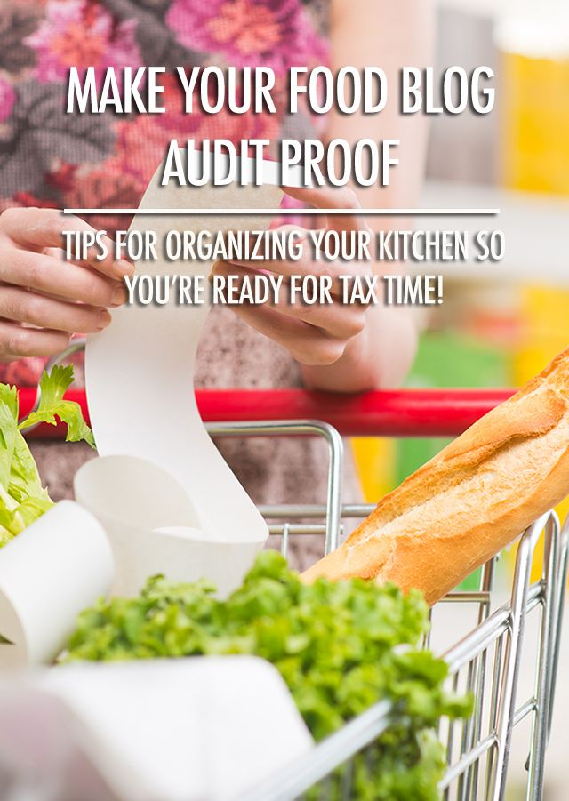 Getting Ready For Tax Season - Audit Proofing Your Blog