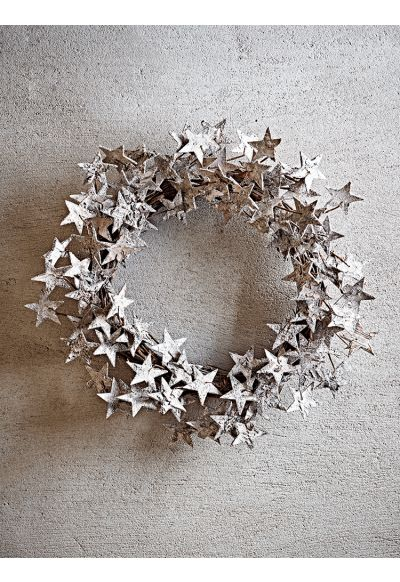 NEW Starry Birch Wreath - Wreaths and Garlands - Christmas
