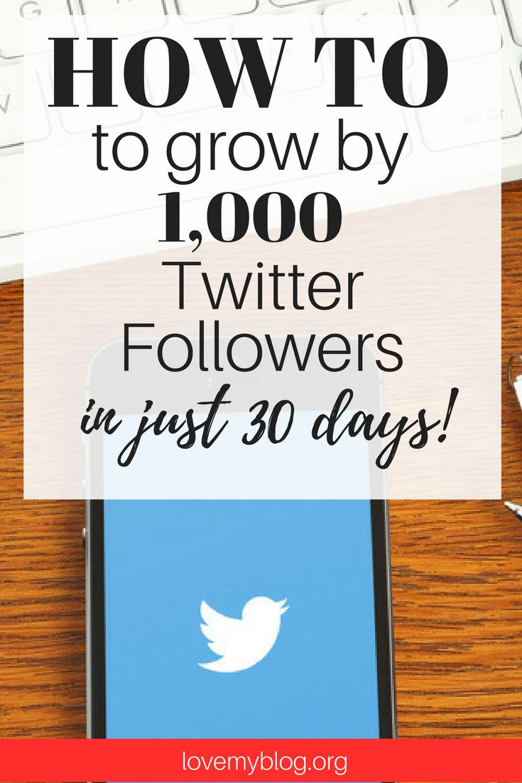 How to Grow Twitter to 1,000 Followers in 30 Days