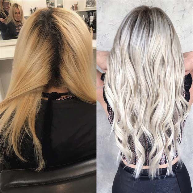 Creative DIY Hair Tutorials - Killing the Brass For A Bright Ashy Blonde - Color, Rainbow, Galaxy and Unique Styles for Long, Short and Medium Hair - Braids, Dyes, Instructions for Teens and Women http://diyprojectsforteens.com/creative-hair-tutorials
