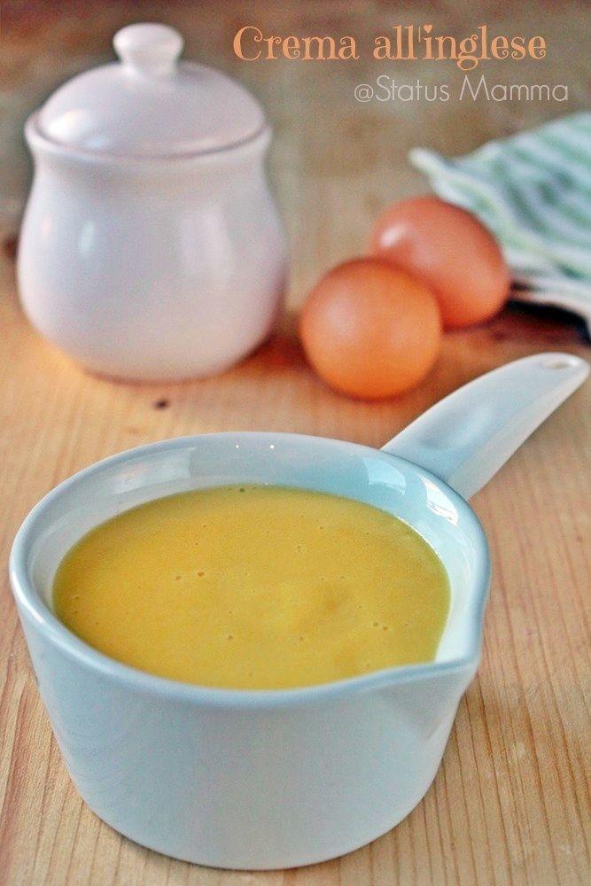 Crema all'inglese ricetta semplice facile casalinga dolce Statusmamma Giallozafferano blogGz food foodporn al cucchiaio economica veloce