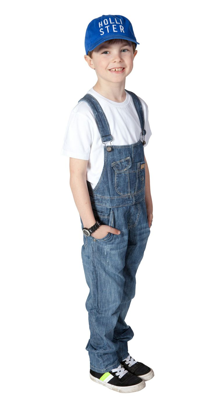 Light-weight dungarees for boys - cool and trendy! #overalls