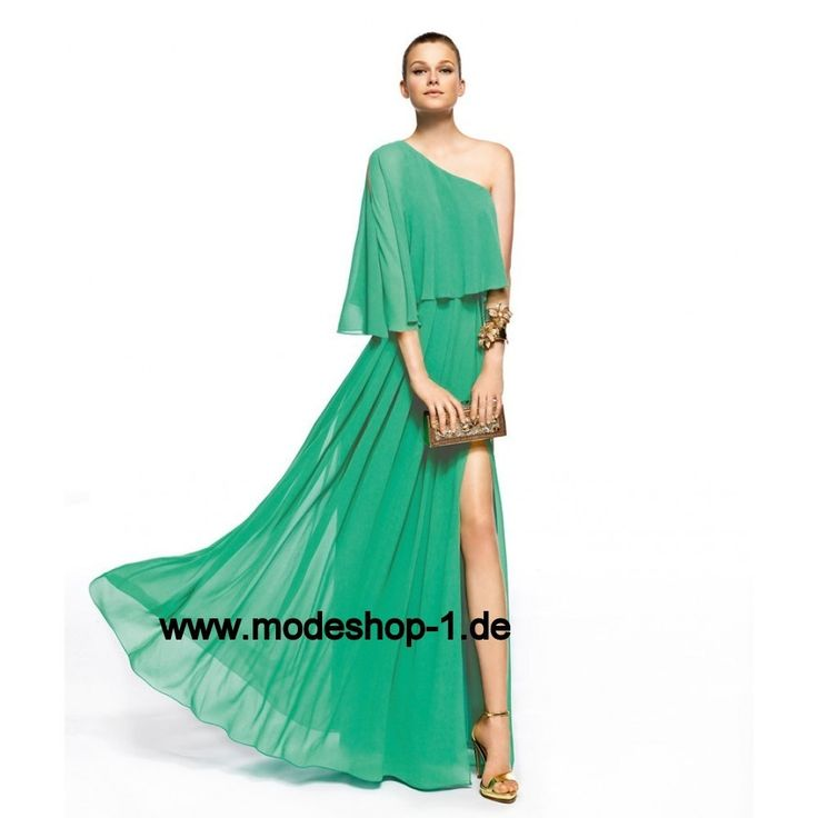 Sexy Sommer Kleid Abendkleid 2018 in Grün