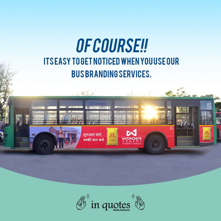 """""""In Quotes"""" provide bus branding on JCTSL city bus for various business owners and we are simply rocking it from a long time. #Advertising https://www.inquotes.in/"""