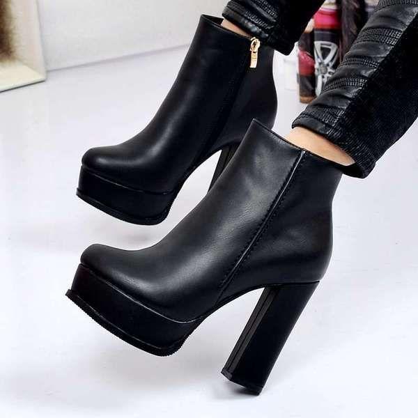 2 015 европейских и американских большой звездой с сапоги на высоком каблуке непромокаемую обувь толстых новые зимние ботинки с Мартином