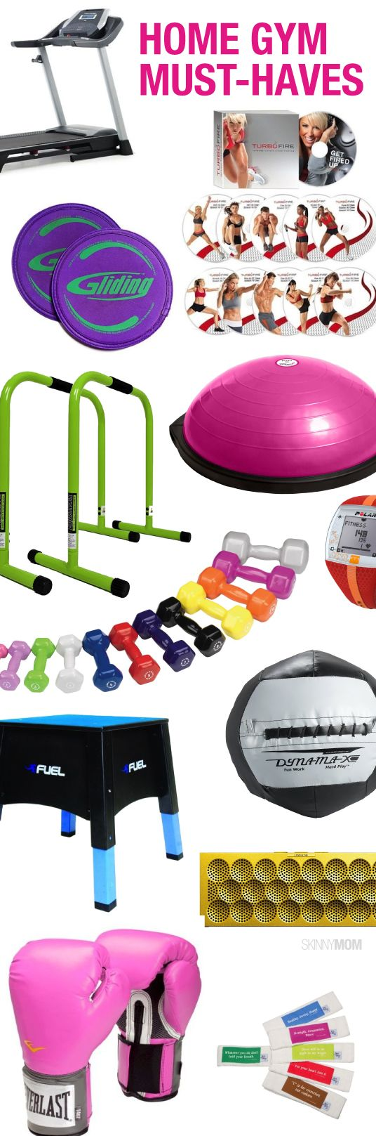 Looking to build a gym at home? Check out this must-have items!
