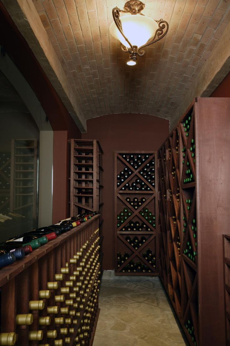 Wine Cellar With Ample Storage