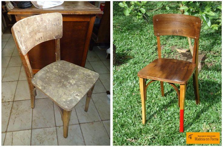 Restauração de Móveis de Época : Cadeira Cimo 1001