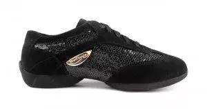 PortDance - Dance Sneakers PD01 Fashion - Velourleder/Lack