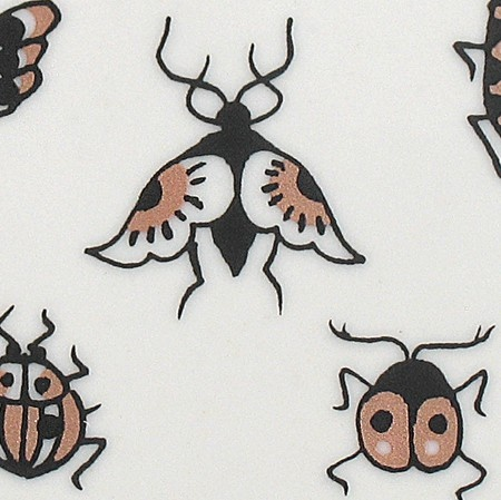 Xenia Taler   Insects (art Tile)