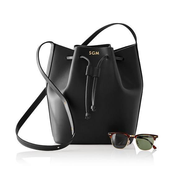 Mark and Grahm Westbury Leather Bucket Bag on Shopstyle.
