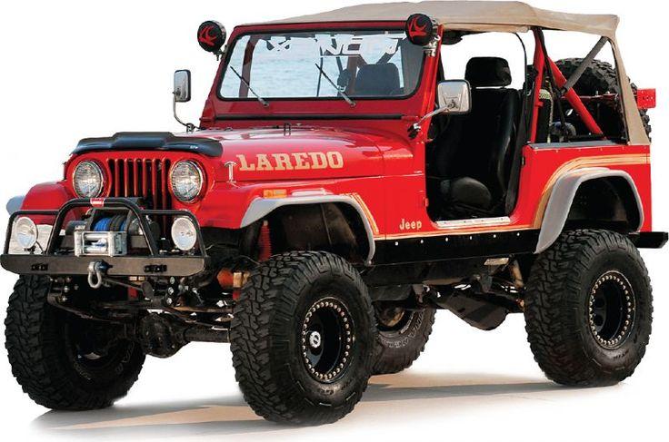 Xenon Flat Fender Style Flare Kit for 55-86 Jeep® CJ-5 & CJ-7