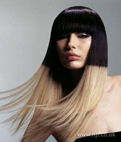 Love colour blocking hair!