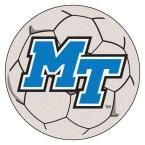 Ncaa Middle Tennessee State University Cream (Ivory) 2 ft. 3 in. x 2 ft. 3 in. Round Accent Rug