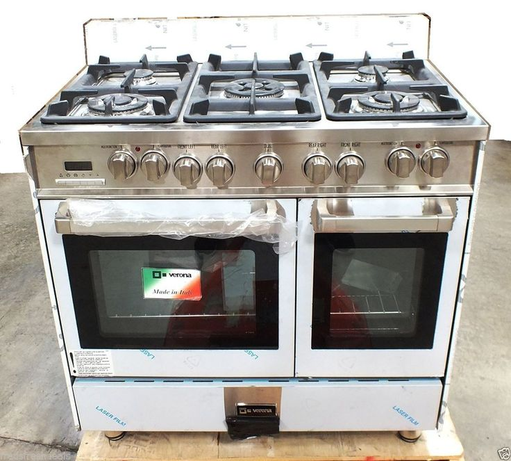 verona 36 double oven gas range reviews. Black Bedroom Furniture Sets. Home Design Ideas