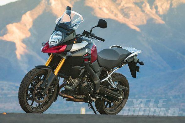2014 Suzuki V-Strom 1000 ABS static shot