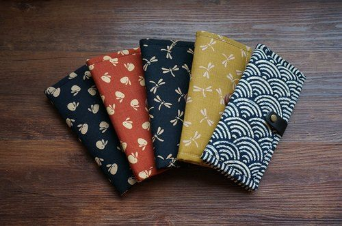 [Breeze] Japanese traditional patterns season long wallet