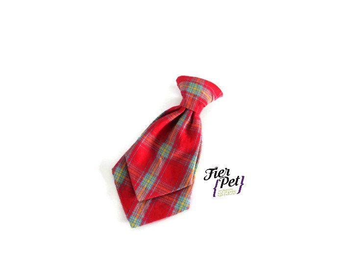dog tie,neck tie,dog neck tie,dog collar,dog accessories,plaid neck tie, pet neck tie,attachable accessory, pet collar by Fierpet on Etsy