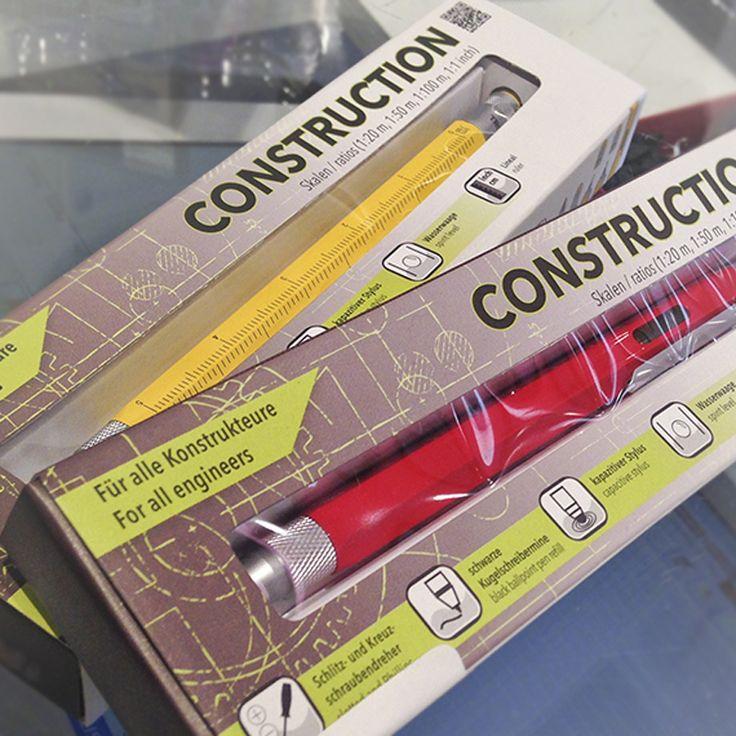 Bolígrafo multifunción Construction | o2lifestyle