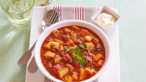 Kartoffel-Kürbis-Chili+Rezept+»+Knorr