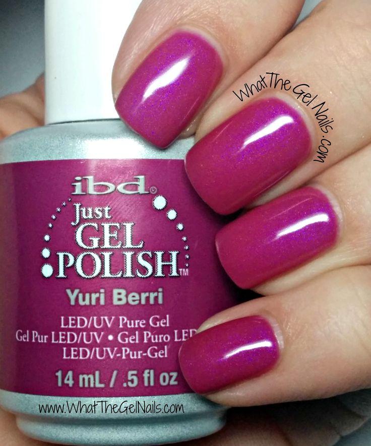IBD Yuri Berri, plus more IBD Just Gel Nail Polish Colors